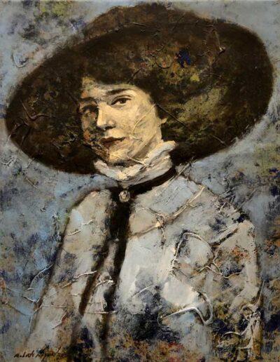 Ohne Titel, aus der Serie «retrato de mujer», 2020, Roberto Noguel