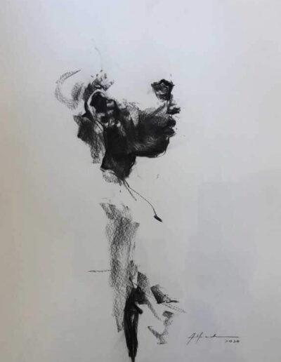 Ohne Titel, aus der Serie «en calma», 2020, Alfredo Mendoza Bullain